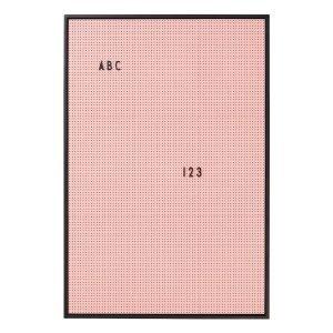 Design Letters Ilmoitustaulu A2 Roosa