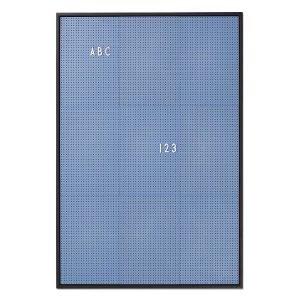 Design Letters Ilmoitustaulu A2 Sininen