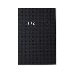 Design Letters Ilmoitustaulu A3 Musta