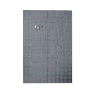Design Letters Ilmoitustaulu A3 Tummanharmaa