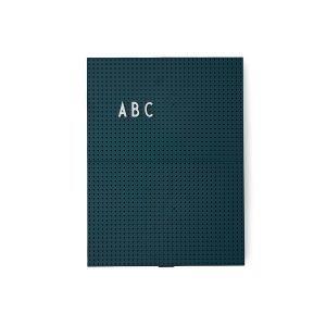 Design Letters Ilmoitustaulu A4 Tummanvihreä