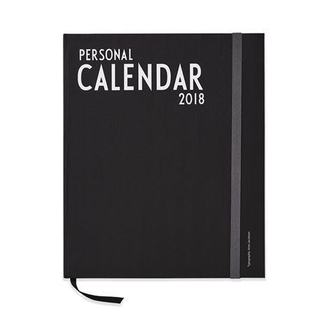 Design Letters Kalenteri 2018 A4