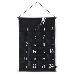 Design Letters Kalenteri Musta