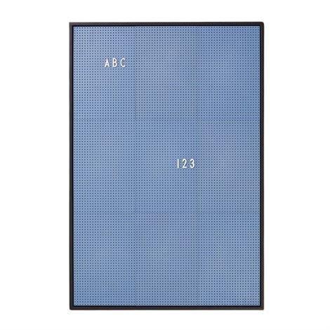 Design Letters Kirjaintaulu A2 Sininen