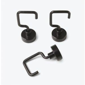 Design Letters Magneetti Musta 6-Pakkaus