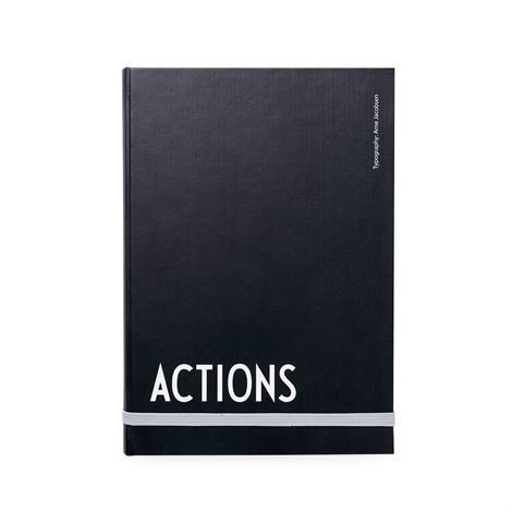 Design Letters Muistikirja - Actions A5