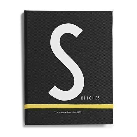 Design Letters Muistikirja S