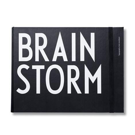 Design Letters Muistikirja Xl Vaakasuuntainen Brainstorm