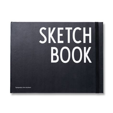 Design Letters Muistikirja Xl Vaakasuuntainen Sketchbook