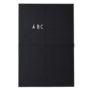 Design Letters Muistitaulu A3 Musta