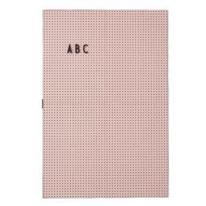 Design Letters Muistitaulu A3 Pinkki