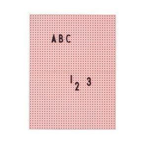 Design Letters Muistitaulu A4 Pinkki