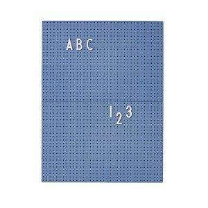 Design Letters Muistitaulu A4 Sininen