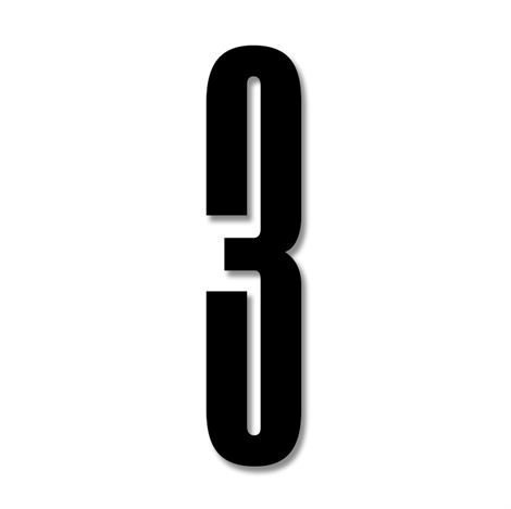 Design Letters Numerot Akryyli 3