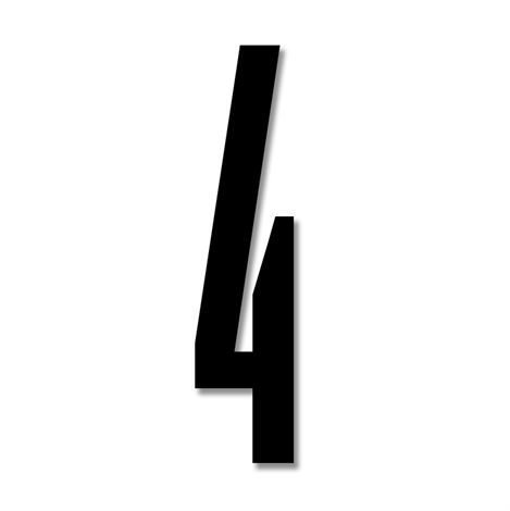 Design Letters Numerot Akryyli 4