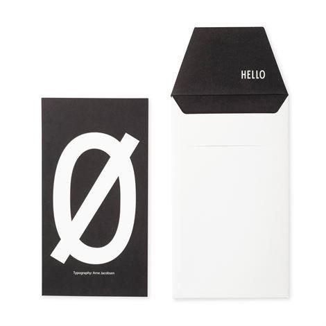 Design Letters Onnittelukortti Ø