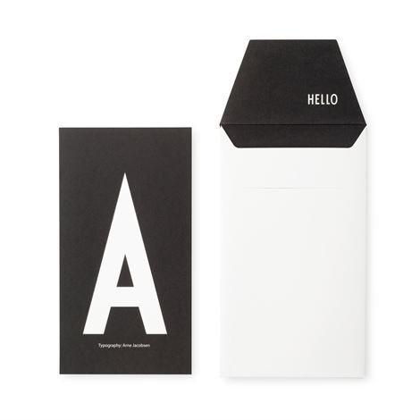 Design Letters Onnittelukortti A