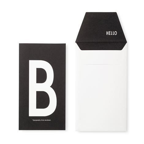 Design Letters Onnittelukortti B