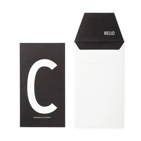 Design Letters Onnittelukortti C