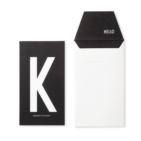 Design Letters Onnittelukortti K