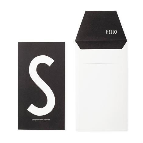 Design Letters Onnittelukortti S