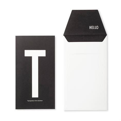 Design Letters Onnittelukortti T