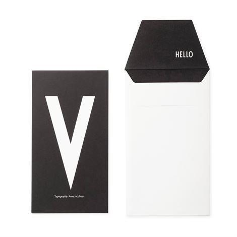 Design Letters Onnittelukortti V