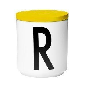 Design Letters Puinen Kansi Keltainen