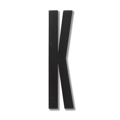 Design Letters Puukirjain K