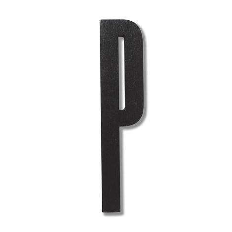 Design Letters Puukirjain P