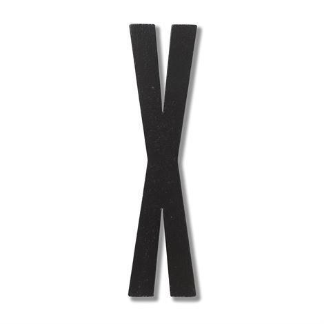Design Letters Puukirjain X