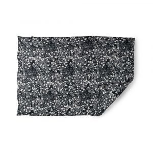 Design Letters Windflower Päiväpeitto Baby Harmaa 100x100 Cm