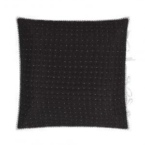 Designers Guild Chenevard Musta & Valkoinen Tyyny