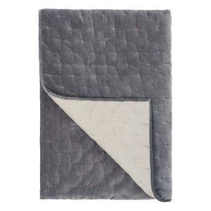Designers Guild Sevanti Graphite Quilt 240x260 Cm