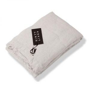 Dirty Linen Bottom Lakana Dirty White 270x270 Cm
