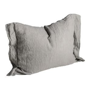 Dirty Linen Head Tyynyliina Ash 50x60 Cm