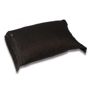 Dirty Linen Head Tyynynpäällinen Dark Ash 50x60 Cm