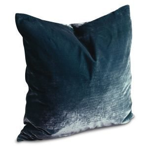 Dirty Linen Plain Tyynynpäällinen Rich Teal 60x60 Cm