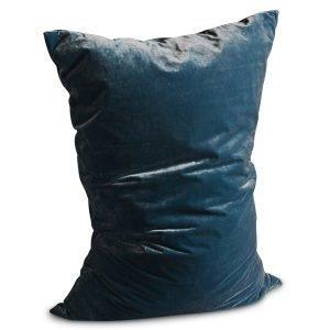 Dirty Linen Plain Tyynynpäällinen Rich Teal 70x100 Cm