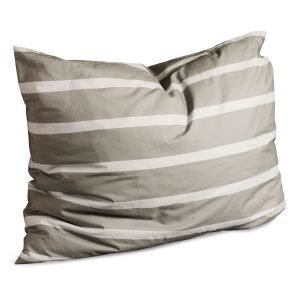 Dirty Linen Randy Head Tyynyliina Stone / Light Grey 50x60 Cm