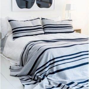 Dirty Linen Strip Tyynynpäällinen 50x80