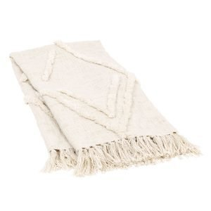 Dixie Diamond Huopa Ivory 125x150 Cm