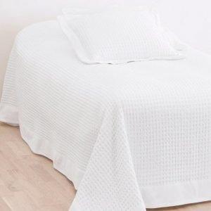 Diya Päiväpeite Kapeaan Sänkyyn 180x260 Cm Valkoinen