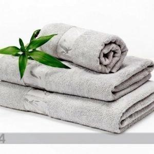 Dossa Bambu Pyyhkeet Harmaa