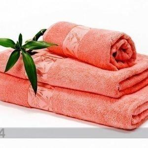 Dossa Bambu Pyyhkeet Koralli