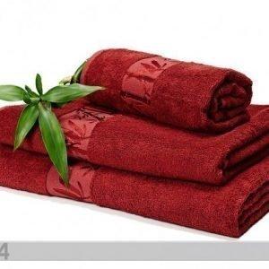 Dossa Bambu Pyyhkeet Viininpunainen