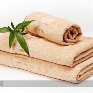 Dossa Bambupyyheliina Beige 100x150 Cm