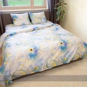 Dossa Vuodevaatesetti Blue Spring 150x210 Cm