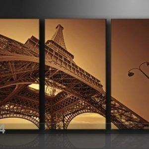 Ed Kolmeosainen Seinätaulu Eiffelin Torni