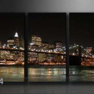 Ed Kolmeosainen Seinätaulu New York
